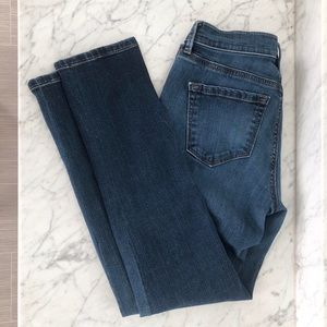 LOFT modern straight medium wash jeans